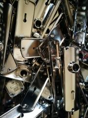 Nikkelezés galéria - Nikkelezett kilincsek
